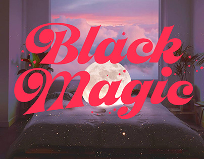 Black Magic Display Font