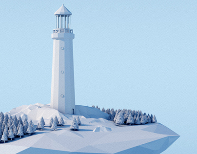 Lighthouse [Low Poly]