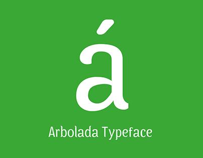 [Diseño de tipografía] Arbolada, Tipografía de texto