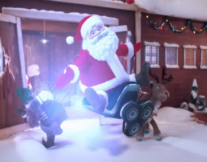 Phillips Norelco - Santa has a new ride