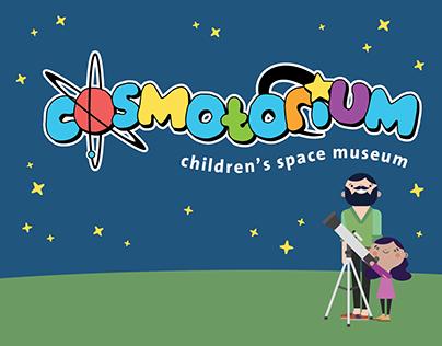 Cosmotorium Children's Museum Branding