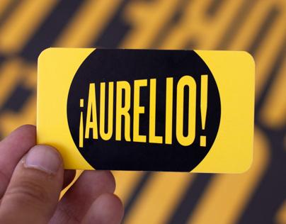 ¡Aurelio!