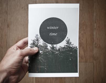Winter time zine
