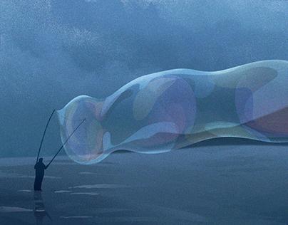 Blue Illustrations