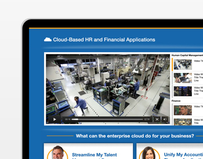 Workday - Persona Microsite