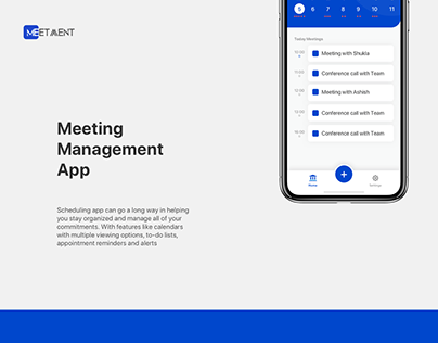 Meeting Management App