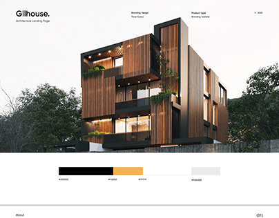 Gilhouse - Architecture Landing Page