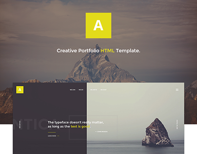 Antica — Multipurpose Business Agency/Personal Portfoli
