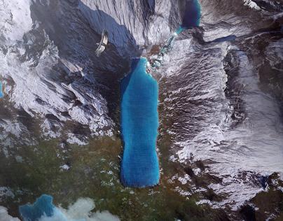 Salcantay Secret Lake