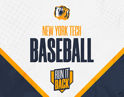 NY Tech Baseball 2020 Branding #RunItBack