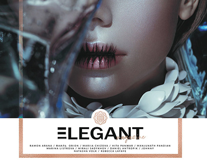 """""""Water Lilies"""" story for ELEGANT magazine"""