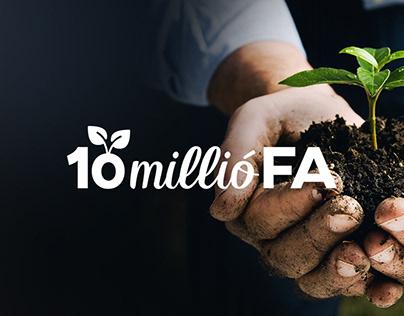 10 millió Fa mozgalom webdesign