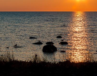 Sunset In Gotland - Sweden
