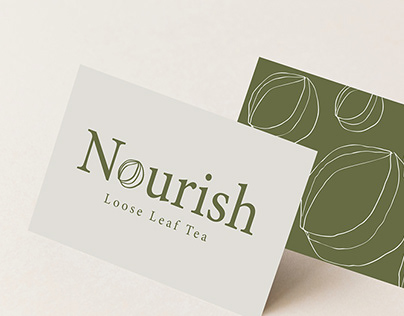Nourish Tea Logo Creation