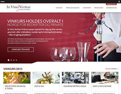 Web Design - In Vino Veritas