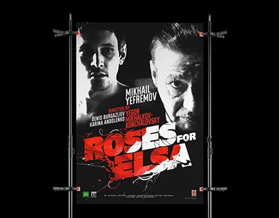 Roses for Elsa / Feature film logo / Print