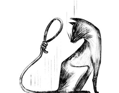 Fashion Illustration Project- Edgar Allan Poe