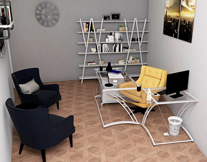 Office (v-ray for sketchup)