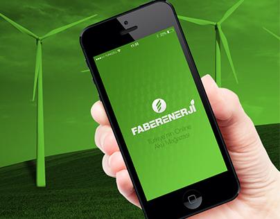 Faber Enerji IOS Application Tasarım Çalışması