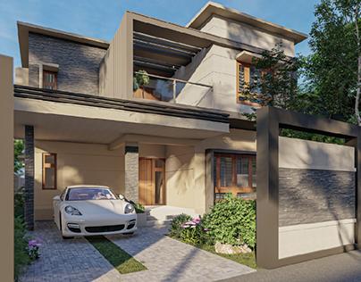 Proposed Design for Villa