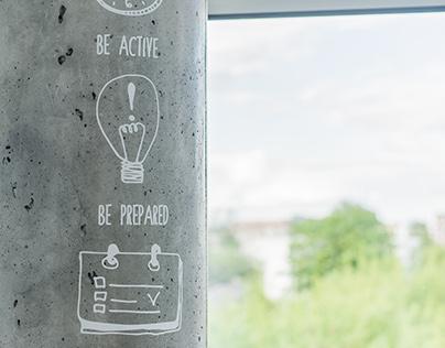 illustrations | Office Rules | TIA, Vilnius