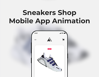 Sneakers Shop Animation