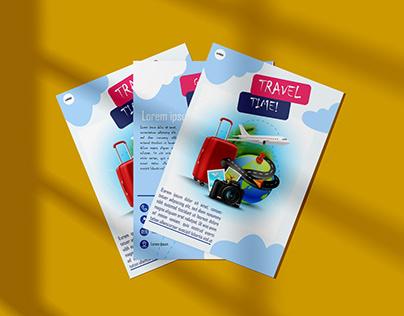 Sample travel flyer