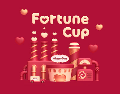 Fortune Cup for Häagen-Dazs Japan