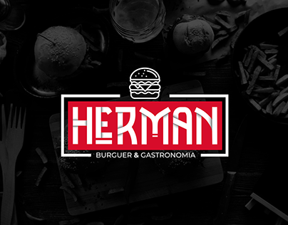 Herman - Burguer & Gastronomia - Logo