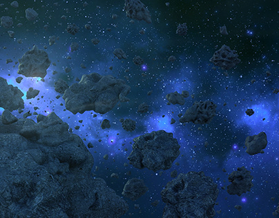Asteroid 3d environment