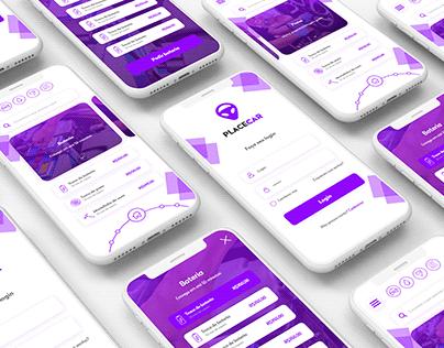 PlaceCar - Aplicativo e Site