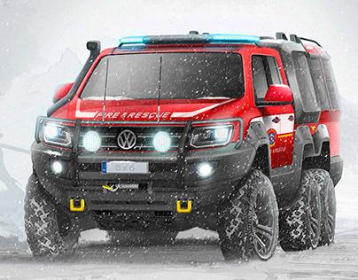 VW AMAROK 6X6