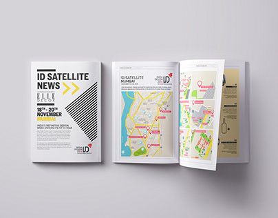 BROADSHEET DESIGN/ EVENT MAGAZINE