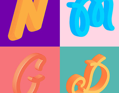 LETTERS IN COLOR