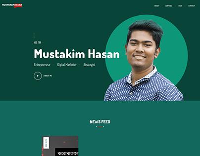 Mustakim Hasan - Personal Website