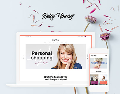 Kelly Young - Personal Stylist WordPress Theme