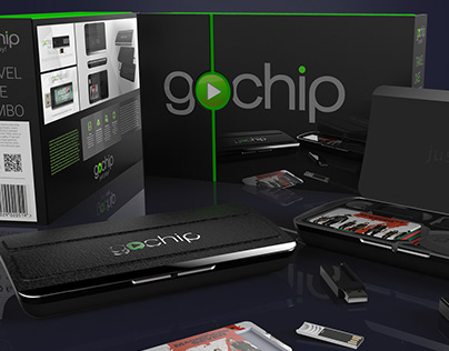Go-chip Hardcase & travel packaging