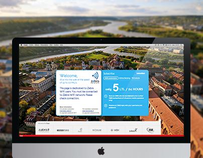 Wifi landing page + mobile + web app (@IndigoKids)