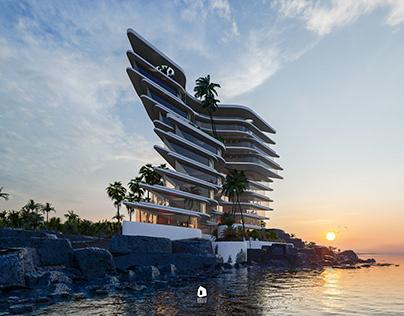 SIVRI apartment building by Veliz Arquitecto