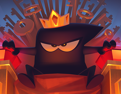 Illustration for 'King of Thieves' Promo