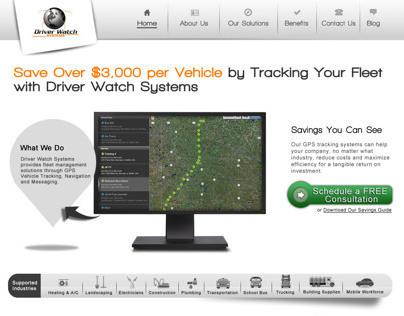 DWS Landing Page Design & Webpage Design