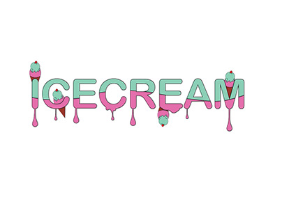 ICE CREAM 2D Animation