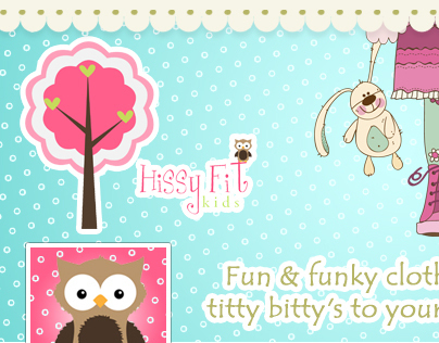 Facebook Cover Photo & Profile pic for Hissy Fit
