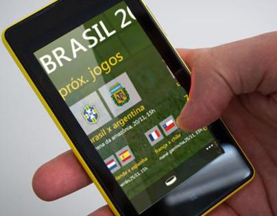 Brasil 2014 - Windows Phone Concept App