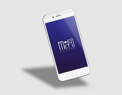 Application mobile et signature pour Météo Canada