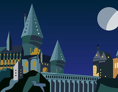 Hogwarts - Motion Graphics
