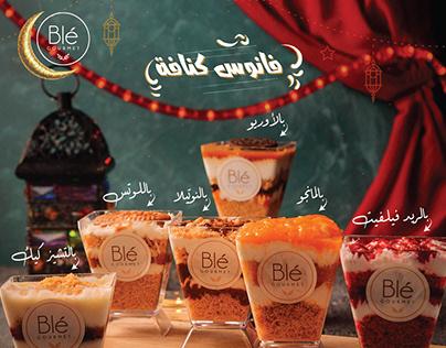 Ramadan Menu for Blé Food Egypt