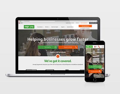 Sage Pay | Website
