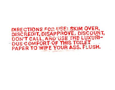 Toilet Paper Resume