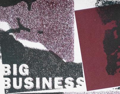 BIG BUSINESS gigposter